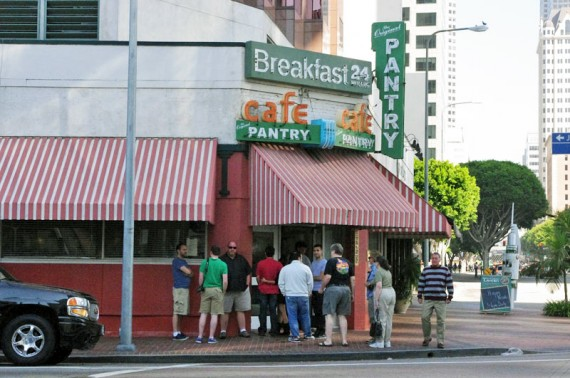 Line At The Pantry