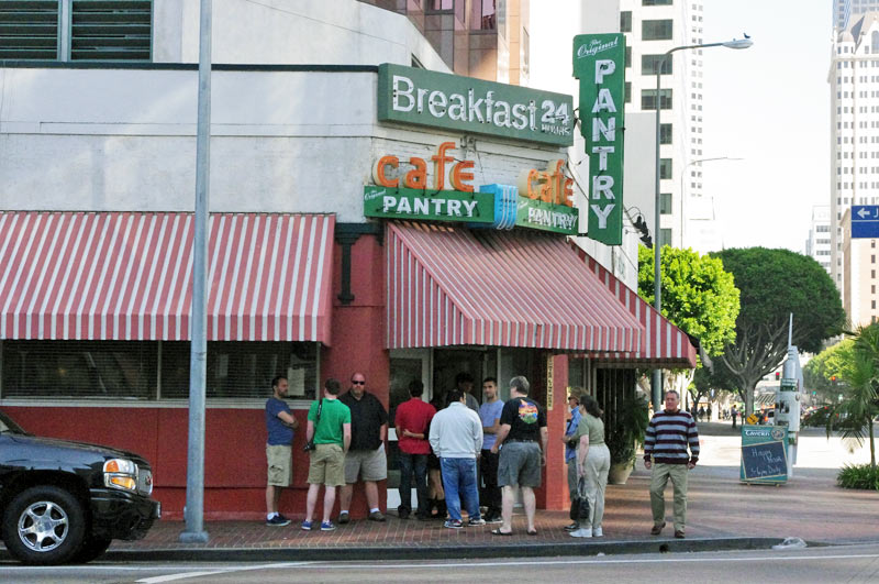 Breakfast At The Pantry