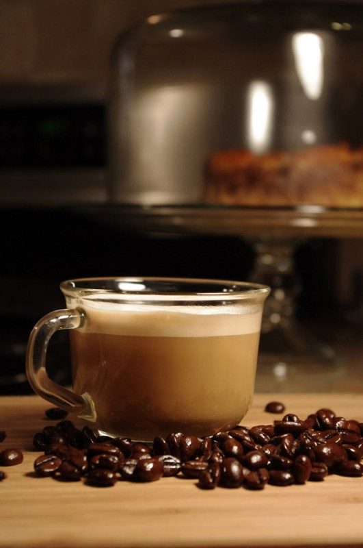 Homemade Cafe Vanilla Specialty Coffee