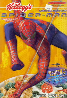 Spider-Man 2 Cereal 2004