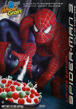 Spider-Man 3 Cereal 2007