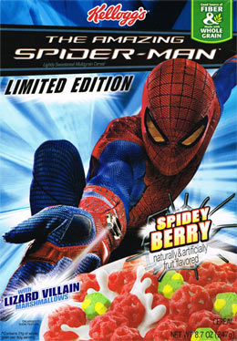 The Amazing Spider-Man Cereal 2012