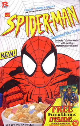 Spider-Man Cereal 1995