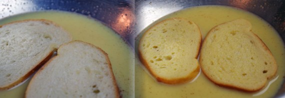 French Toast: Soaking The Bread