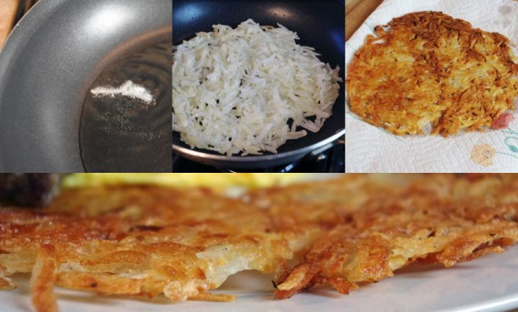 Making Extra Crispy Hash Browns