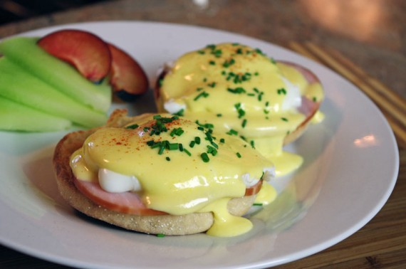 Homemade Eggs Benedict