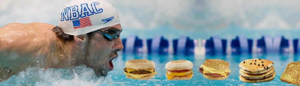 Michael Phelps' Giant Breakfast