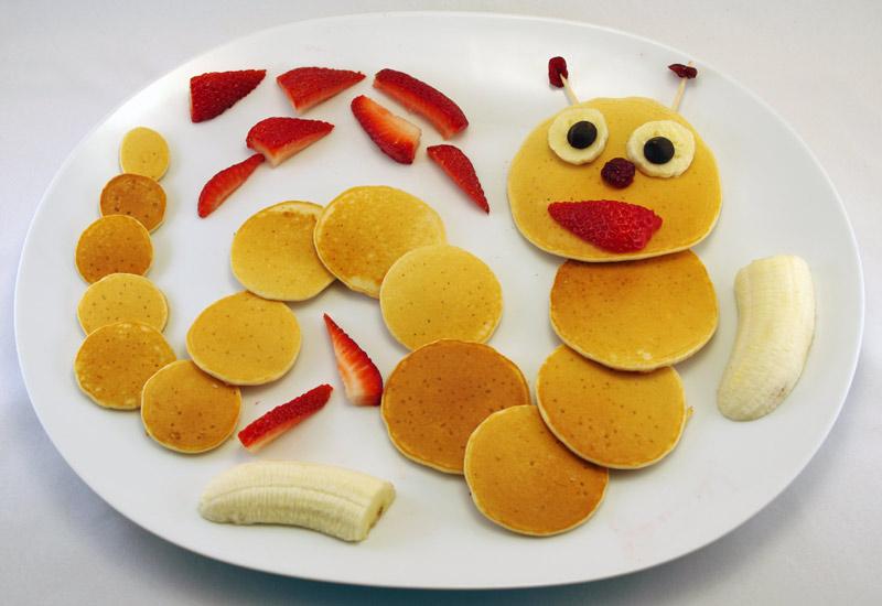Making Cat Pancakes