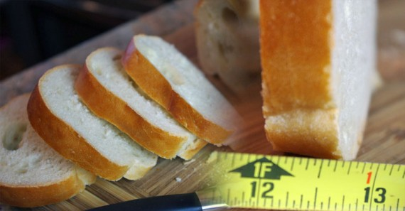Slicing Bread For French Toast