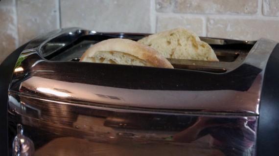 Toast English Muffins