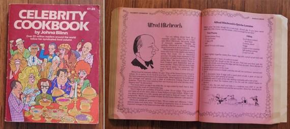 Celebrity Cookbook By Johna Blinn