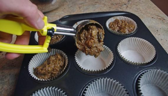 Dollop Batter Into Prepared Muffin Cups