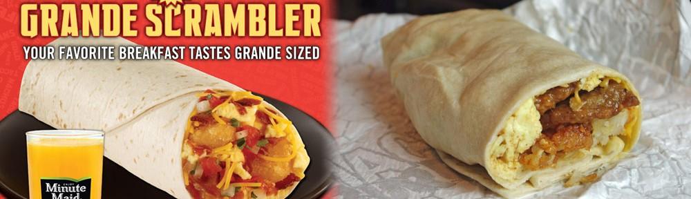 Taste Test: Del Taco's New Grande Scrambler