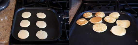 Making Mini-Pancakes