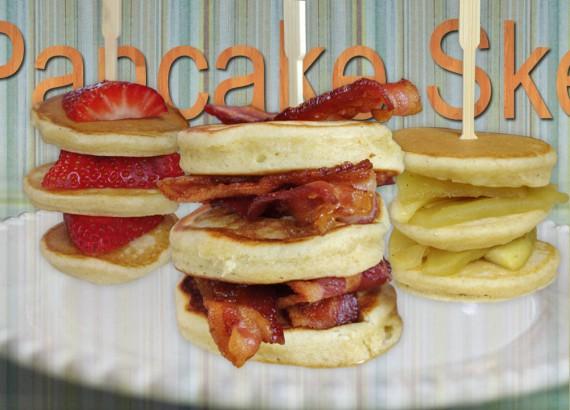 Pancake Skewer Breakfast Party