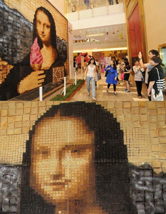 Mona Lisa In Toast By Maurice Bennett