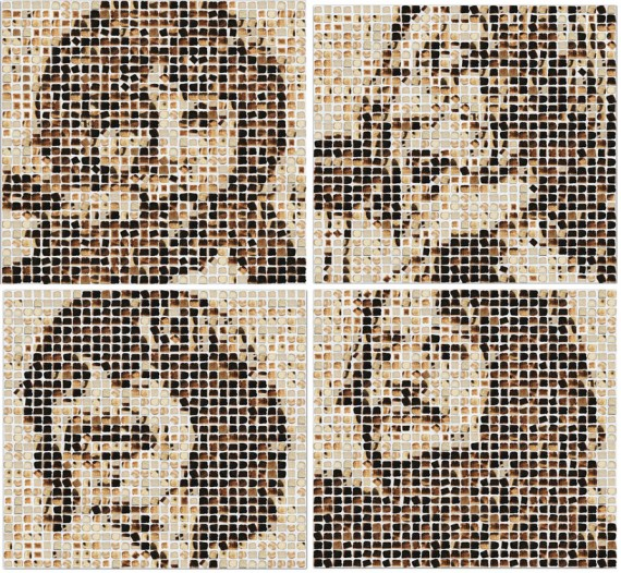 Toast Beatles By Henry Hargreaves