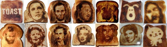 Individual Toast Art Examples