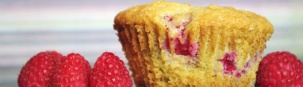 Raspberry And White Chocolate Muffins