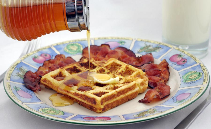golden waffles light & buttery how to cook