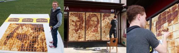 Nathan Wyburn Marmite Mosaics