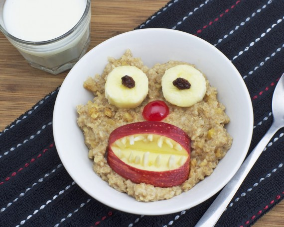 There's A Monster In My Oatmeal!