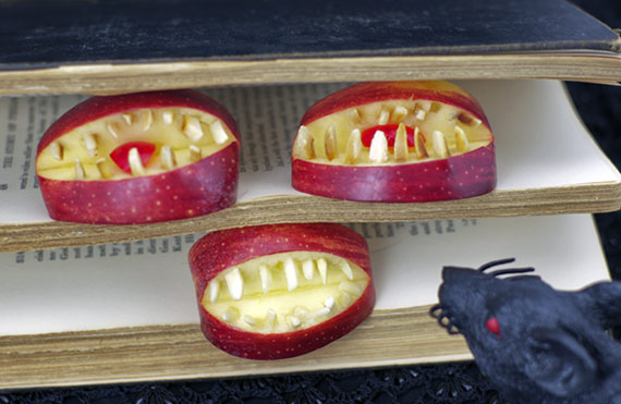 Apple Teeth In A Book