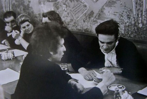 Dylan And Johnny Cash Have Breakfast