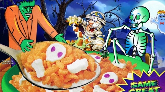 Top 10 Halloween Breakfast Cereals | Team Breakfast
