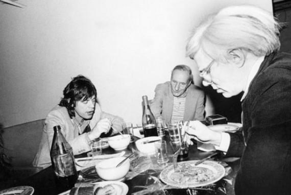 Jagger Warhol Breakfast