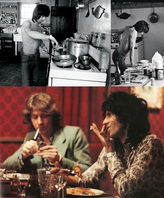 Keith Richards Breakfast