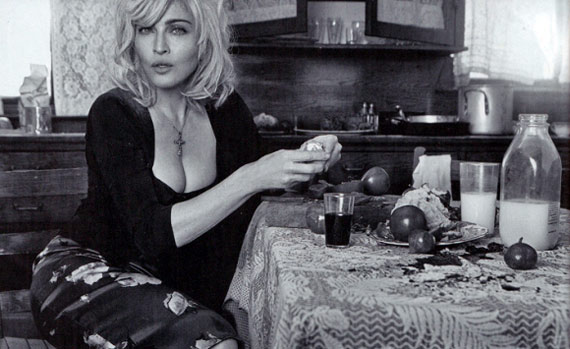 Madonna Making Breakfast