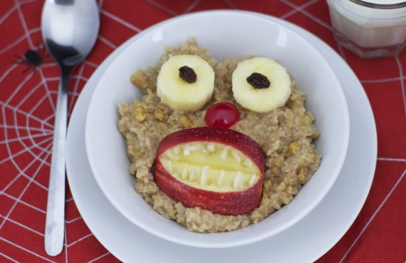 A Monster In My Oatmeal!