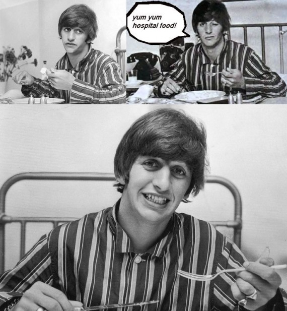 Ringo Starr Breakfast