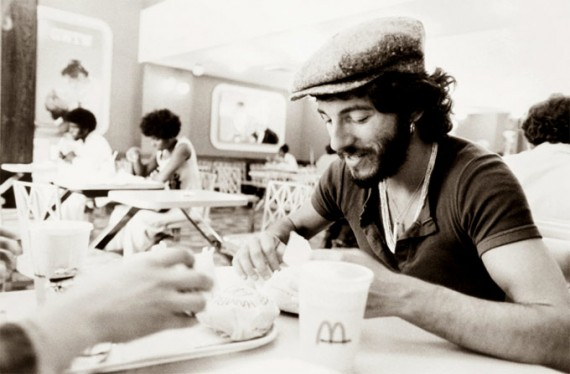 Springsteen at McDonald's