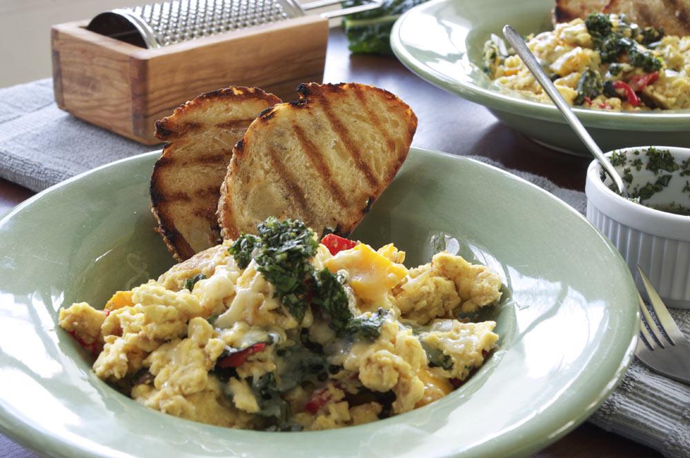 How to Make a Tuscan Scramble | Team Breakfast