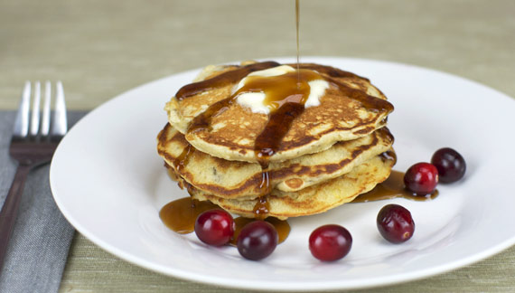 Cranberry Sauce In Pancakes