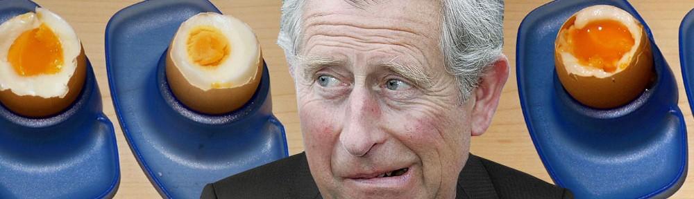 Prince Charles Denies Egg Allegations