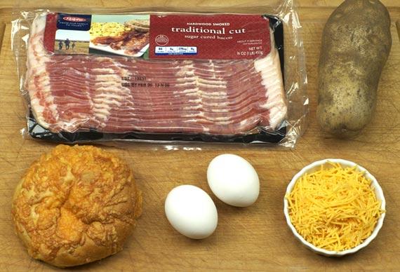 Hobbit Hole Breakfast Ingredients
