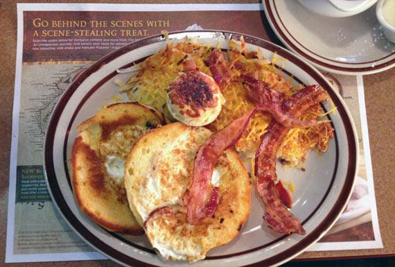 Hobbit Hole Breakfast From Denny's