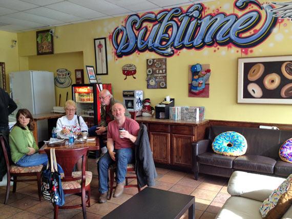 Me At Sublime Doughnuts In Atlanta, GA