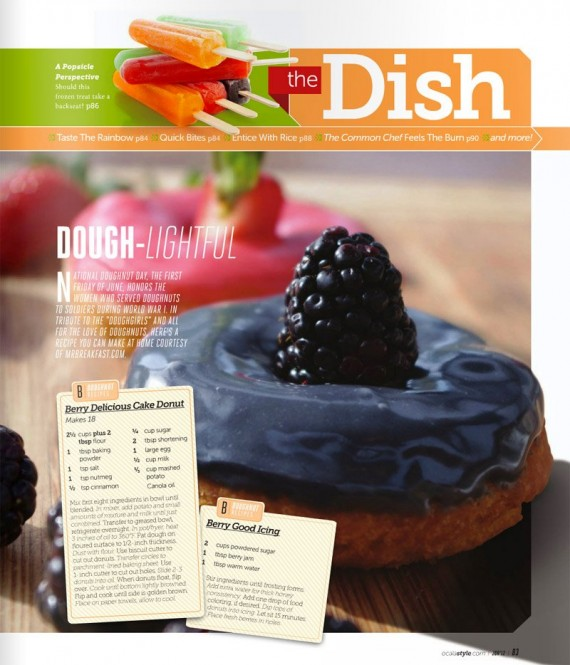 Donut Recipe in Ocala Style