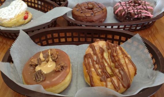 Sampling Donuts at Sublime Doughnuts In Atlanta, GA