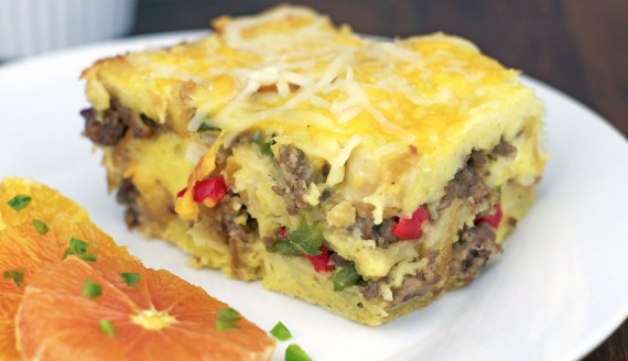 Basic Breakfast Strata