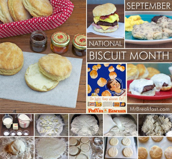 September is National Biscuit Month
