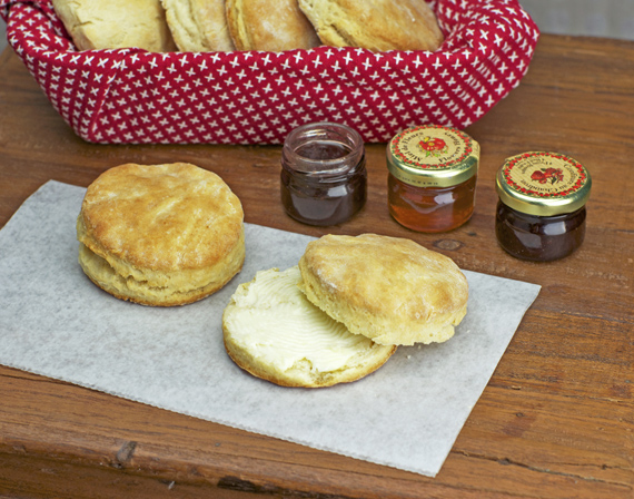 Buttermilk Biscuits And Jam