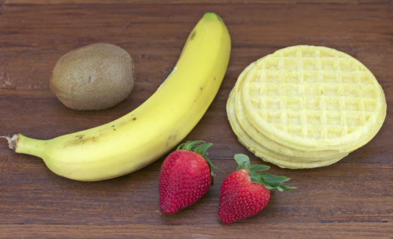 Ingredients For Waffle Butterflies