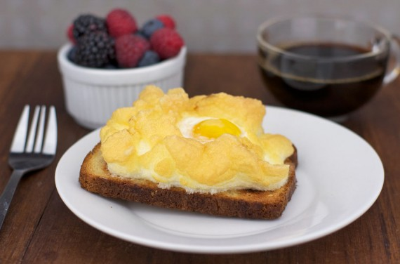 Retro Recipe: Baked Egg Nest