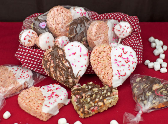 Valentines Cereal Basket