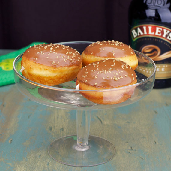 Bailey's Irish Cream Donuts